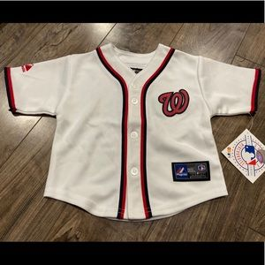 NEW Washington Nationals baseball baby jersey